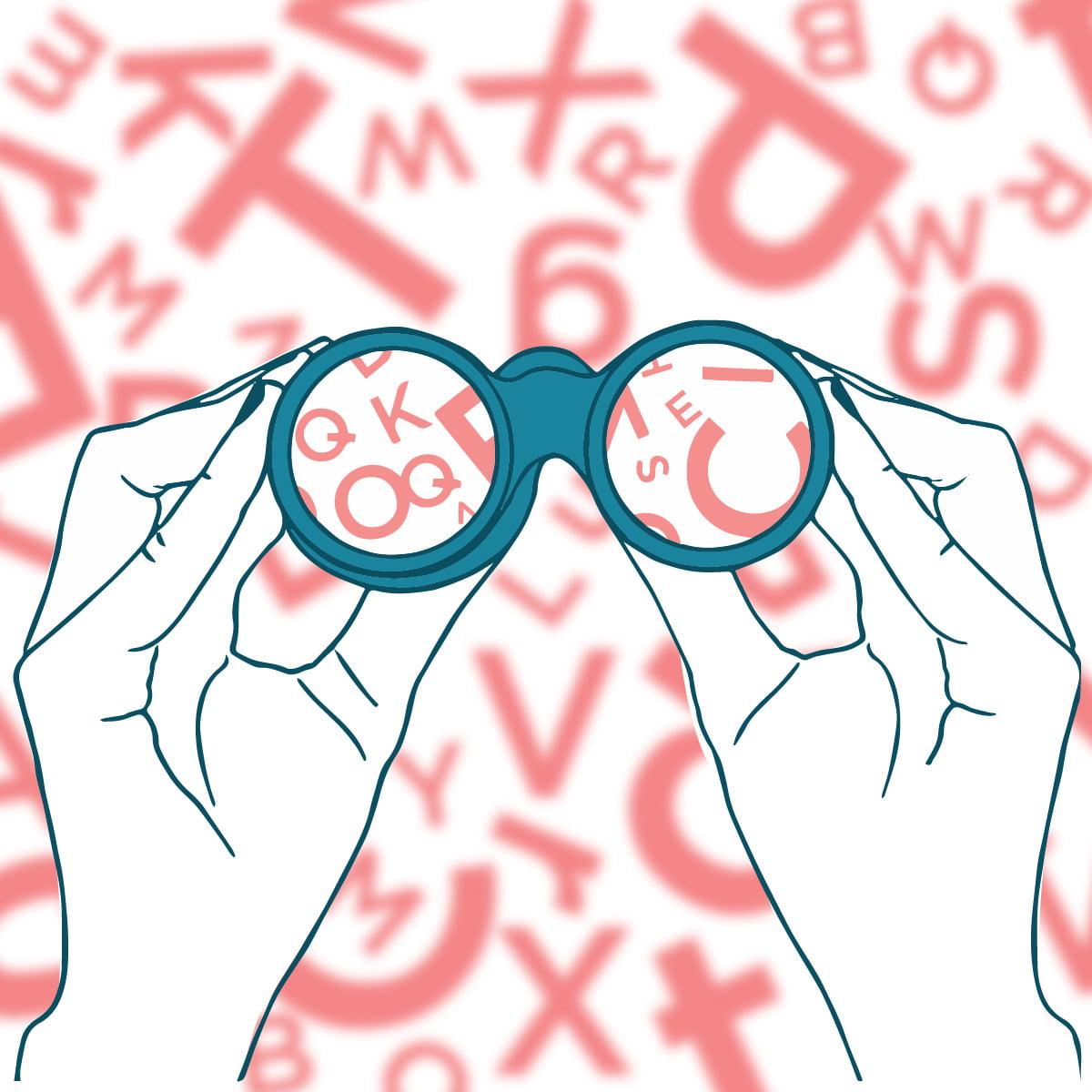 Zmote o prevajanju - ilustracija
