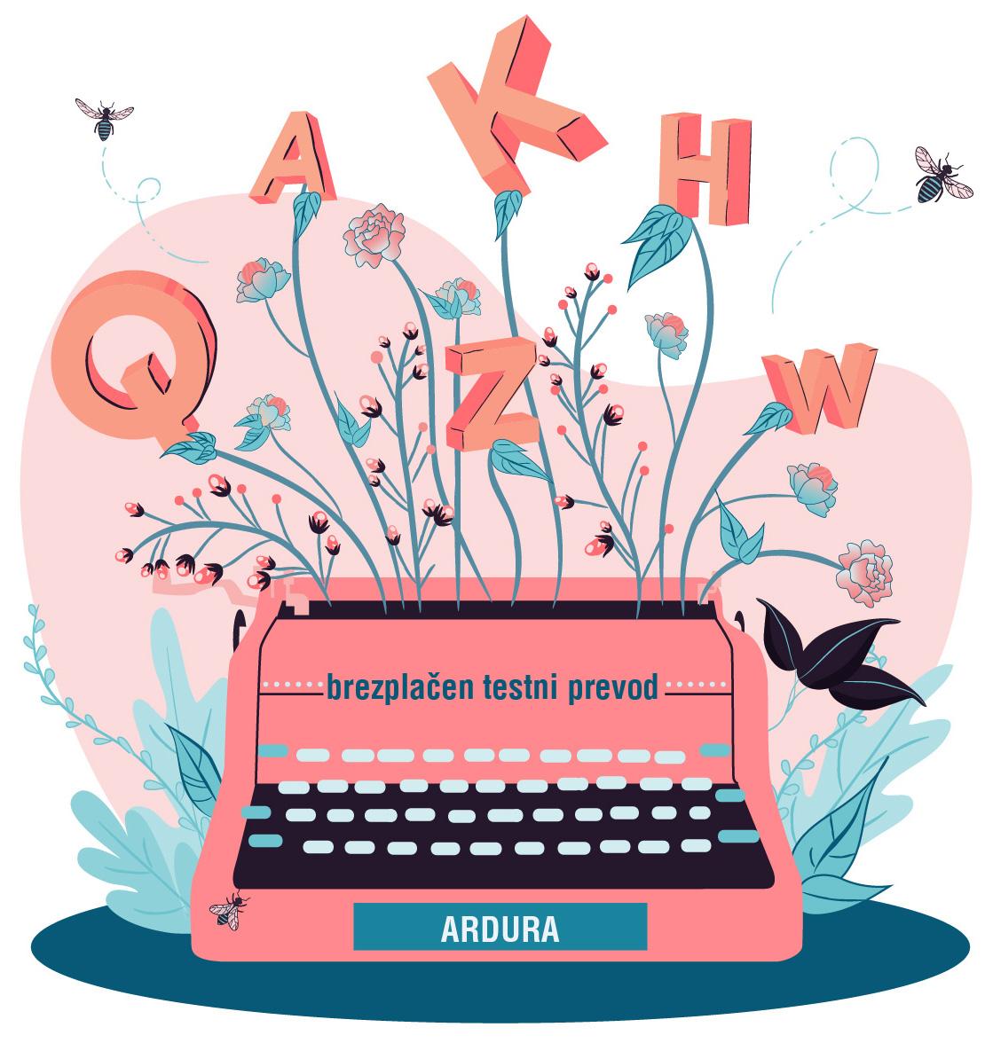 Ardura - brezplačen testni prevod